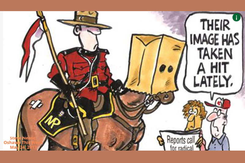 Mountie comic
